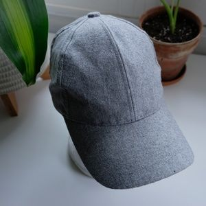 Gray Adjustable Hat with no Logos